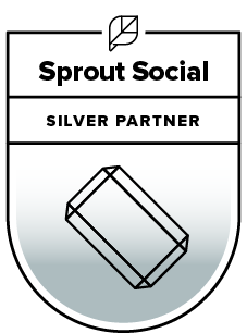 Sprout Social Silver Partner Badge